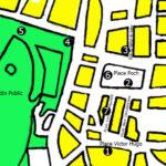 """Carte du circuit """"Autour de la Grand Place"""""""
