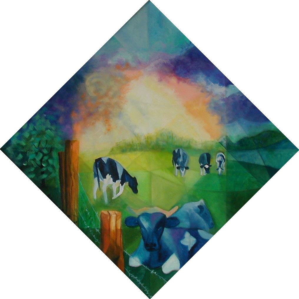 Les Vaches Bleues